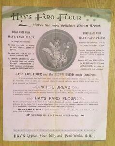 c1890-Hay-039-s-Faro-Flour-Hull-Handbill
