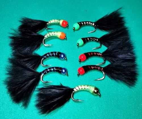 CAT BUG//Stalking Bug Black sz 10
