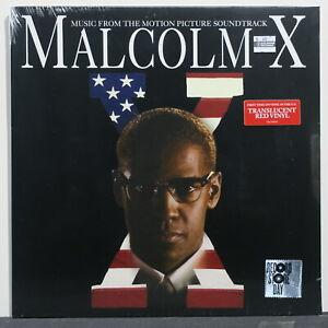 SOUNDTRACK-039-Malcolm-X-039-RSD-Ltd-Edition-RED-Vinyl-LP-NEW
