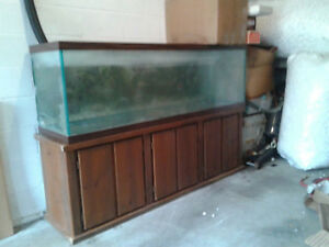 125 Aquarium Fish Wood Stand Wood Stand Only Ebay