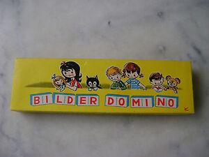 Bilder-Domino - Boîte de jeu de dominos vintage - France - État : Occasion: Objet ayant été utilisé. Consulter la description du vendeur pour avoir plus de détails sur les éventuelles imperfections. ... - France
