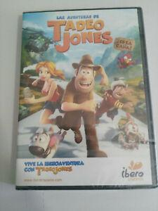 LAS-AVENTURAS-DE-TADEO-JONES-JOSE-MOTA-DVD-EXTRAS-ESPANOL-nueva