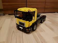 Bauanleitung instruction Truck LKW MAN  3 Eigenbau Unikat Moc Lego Technic 42043