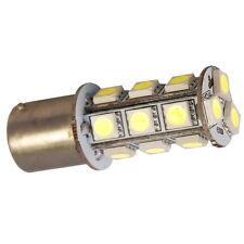 HQRP BA15s bombilla led SMD de 18 LED 5050 3W 7000K luz blanca fría, 250 Lumen