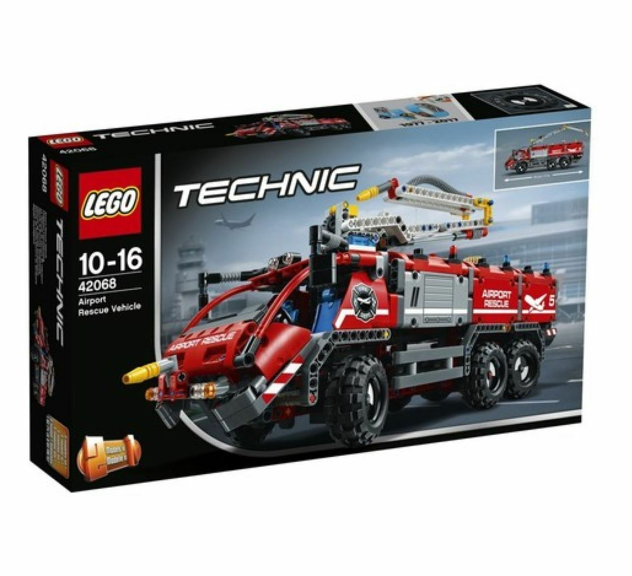 [LEGO]  Technic Airport Rescue Vehicle 42068 2017 Version Free Shipping