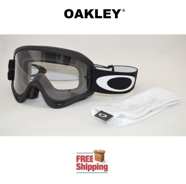 4ea8918c77 OAKLEY® O-FRAME® GOGGLES MX ATV MOTOCROSS MOTORCYCLE DIRT OFF ROAD MATTE  BLACK