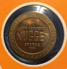 $1 FULL PROOF SLOT TOKEN KITTY/'S LONGBRANCH CASINO 1969 FM VIRGINIA CITY NEVADA