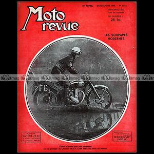 AgréAble Moto Revue N°1012 Jacques Charrier Bsa Cyclo Nivex Moteur Lohmann Ffm 1950 Belle Et Charmante