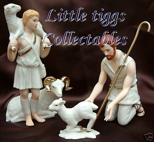 Lenox Nativity Shepherds of Bethlehem