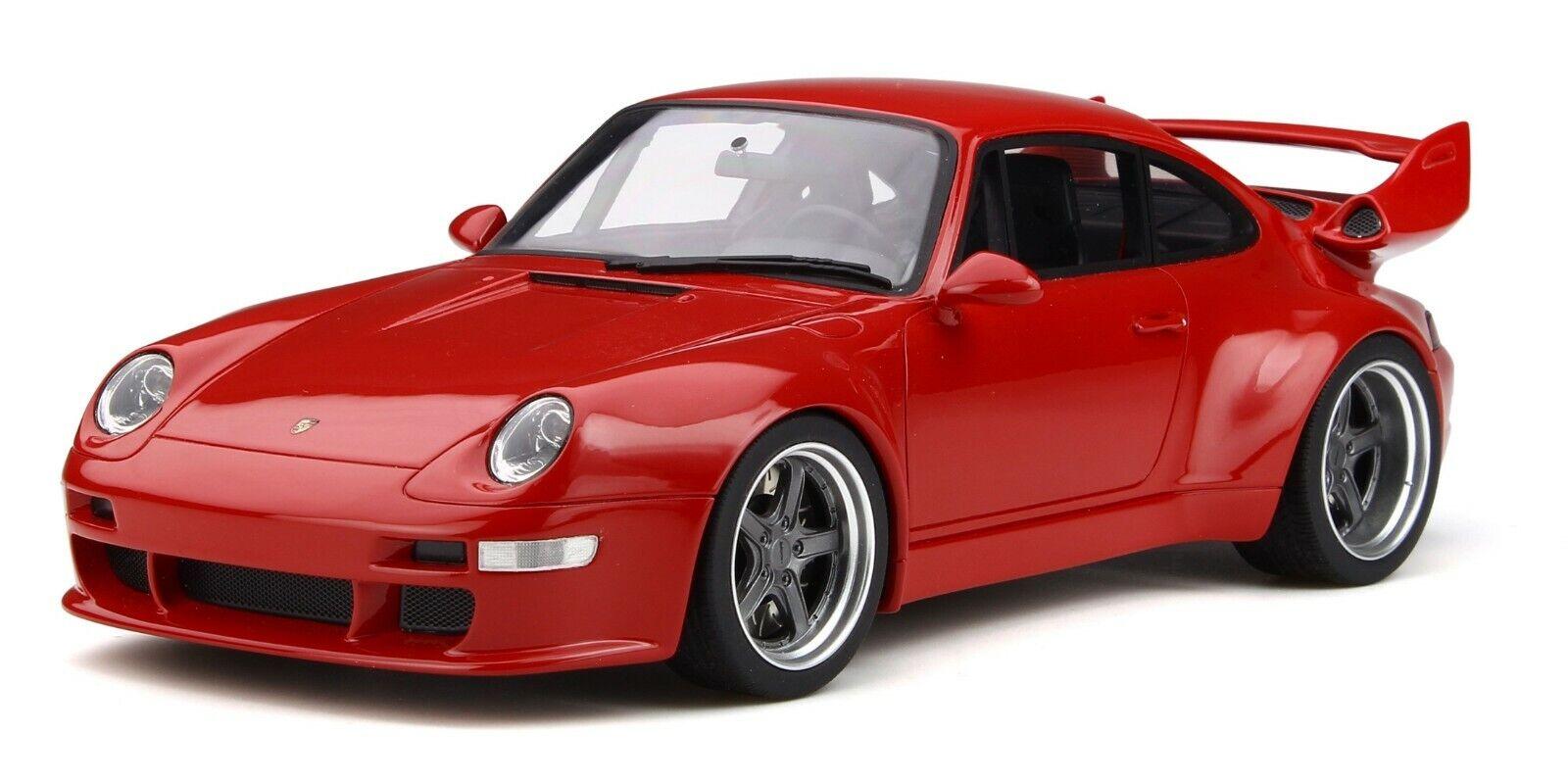 Porsche 911 993 Gunther Werks 400R  Carmin Red  GT210  Limitiert GT Spirit  1 18