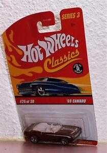 2006-Hot-Wheels-Classics-Series-3-039-69-Camaro-COLOR-COPPER