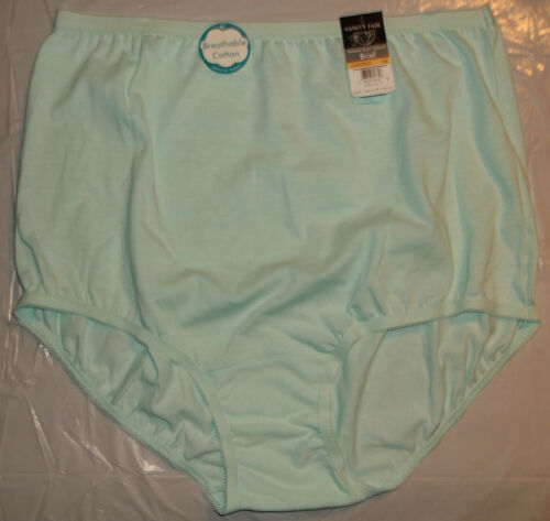 NWT Vanity Fair Perfectly Yours Tailored 15318 cotton brief panty panties COLORS