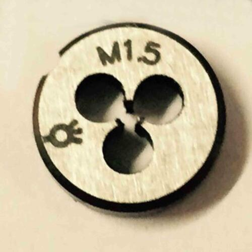 HSS M1.5 X 0.35mm Plug Tap Die Threading Tool for Machine   Right hand
