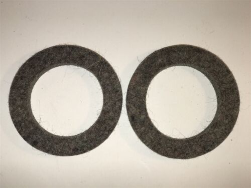 1917-24 Chalmers 6 Rear Wheel Axle Felt Seal Grease Oil Retainer E21230 Qty 2