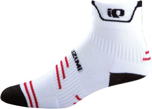 Cyclisme Vélo Chaussettes-Blanc Pearl Izumi Unisex P.R.O Medium