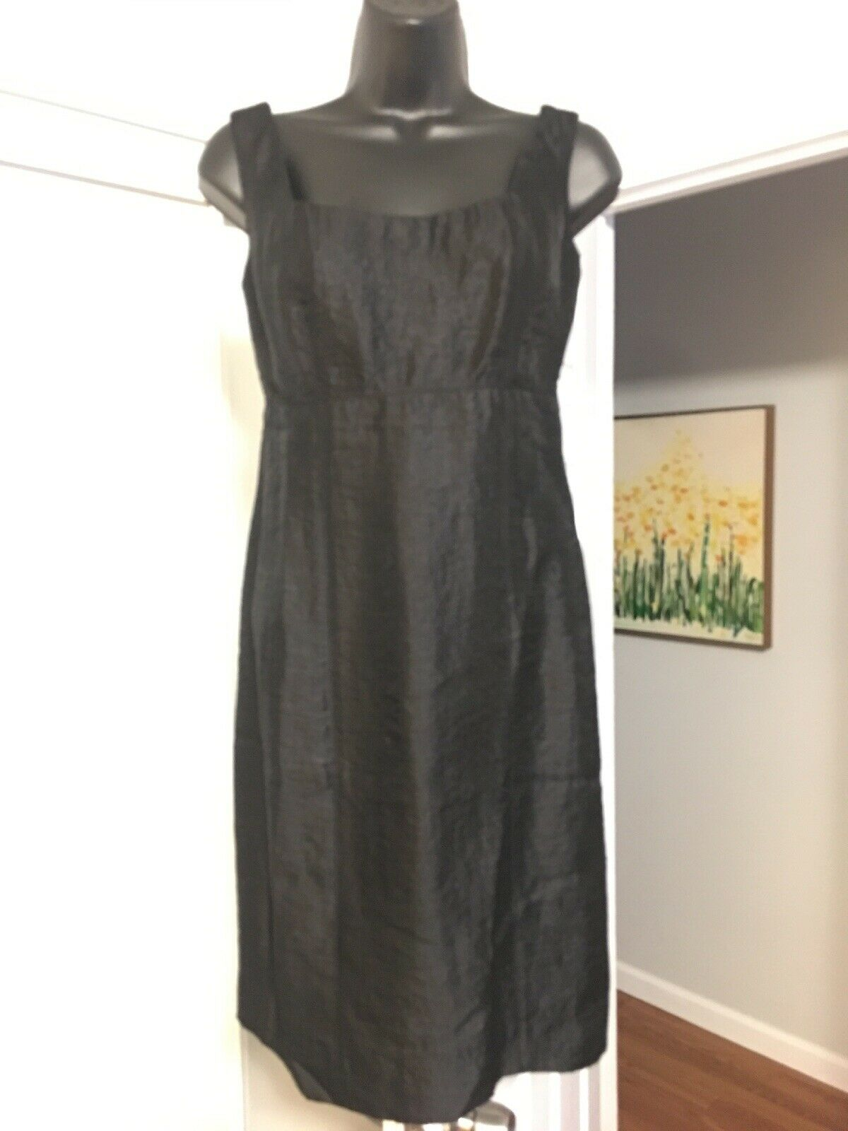 Z By ZELDA damen schwarz Dress 2 Sleeveless Above Knee Fully Lined R1