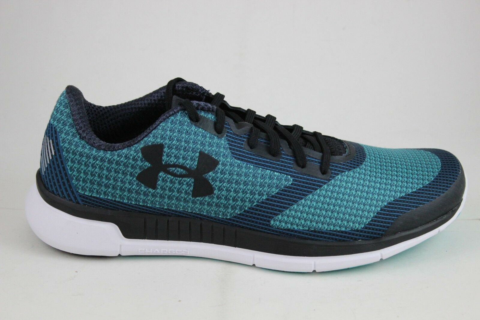 the latest 4a1ad e7483 Under Armour Damen Geladen Geladen Geladen Lightning 1285494-369 Neptun  Weiß Schwarz Neu 49cd44