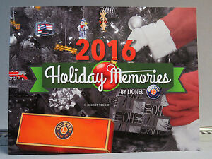 Christmas Catalogs.Details About Lionel 2016 Train Catalog Holiday Memories Lionel Christmas Ornaments Decor