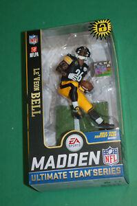 c6bd0e52585 Image is loading Mcfarlane-LeVeon-Bell-Pittsburgh-Steelers -black-jersey-figure-