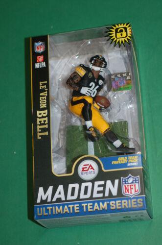Mcfarlane LeVeon Bell Pittsburgh Steelers black jersey figure figurine statue