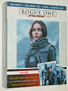 Rogue One A Star Wars Story 2016 3d Blu Ray 5 Disc Target Exclusive Gift Set Ebay