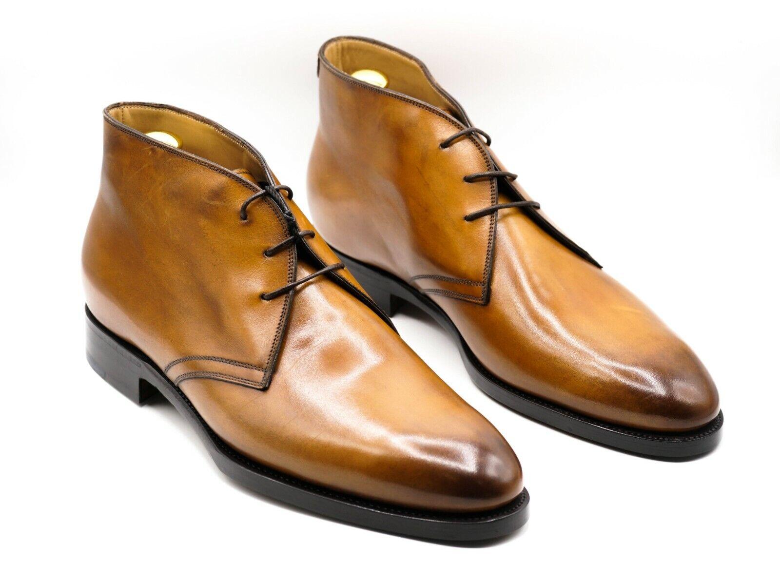 NEW KITON Napoli Dress Leather Shoes Size Eu 44 Uk 10 Us 11 (KIS50)