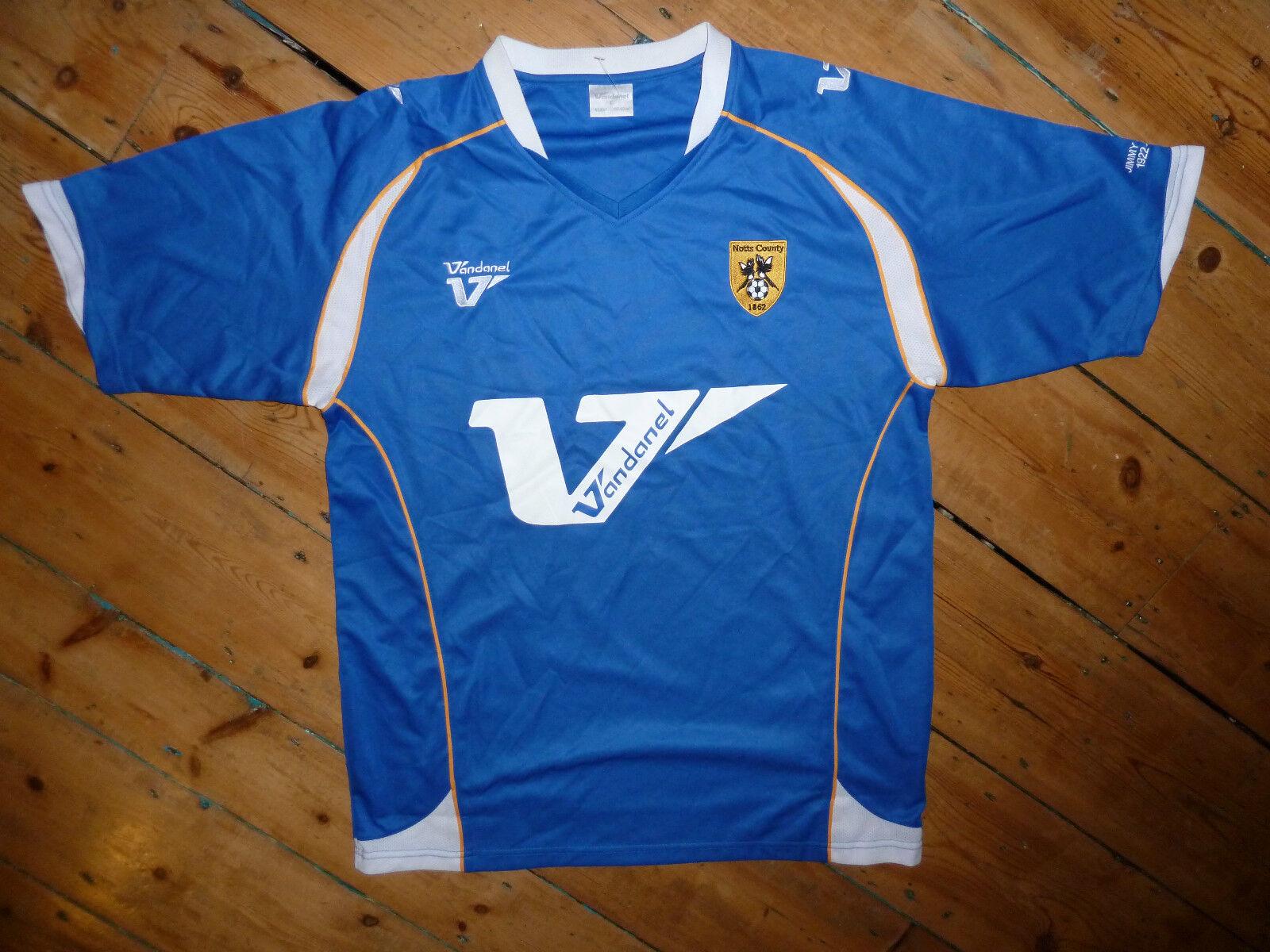 Größe: L/ Notts County FC Shirt Fußball Trikot Entfernt 2007 Camiseta Maglia