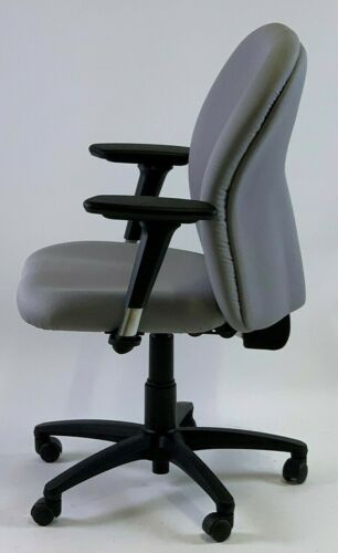 Albion Chairs W37A4X traditional executive//manager task office chairs in grey