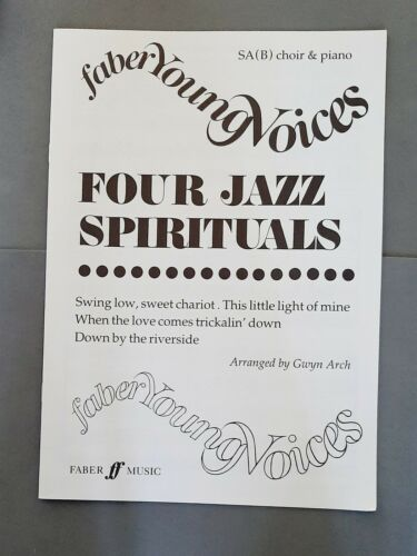 Faber Young Voices: Four Jazz Spirituals B Choir//Piano SA