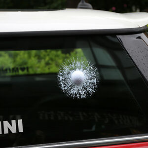 Details About 3d Real Golf Stickers Funny Rear Window Sticker Body Decal Fit For Mini Cooper
