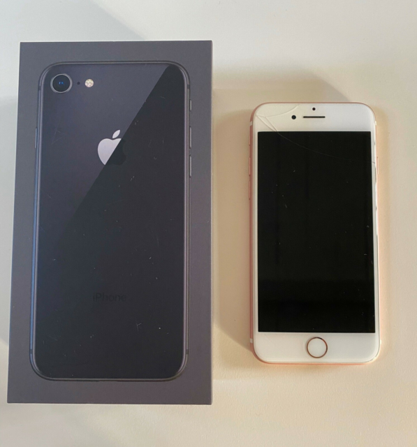 iPhone 7, 128 GB, pink, Rimelig, Rose gold iphone 7 128 GB…