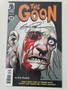 THE-GOON-16-2006-DARK-HORSE-COMICS-AUTOGRAPHED-by-ERIC-POWELL-with-COA-NM