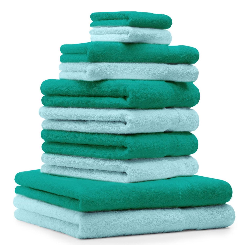Betz 10-tlg. Handtuch-Set CLASSIC 100% Baumwolle     | Schnelle Lieferung