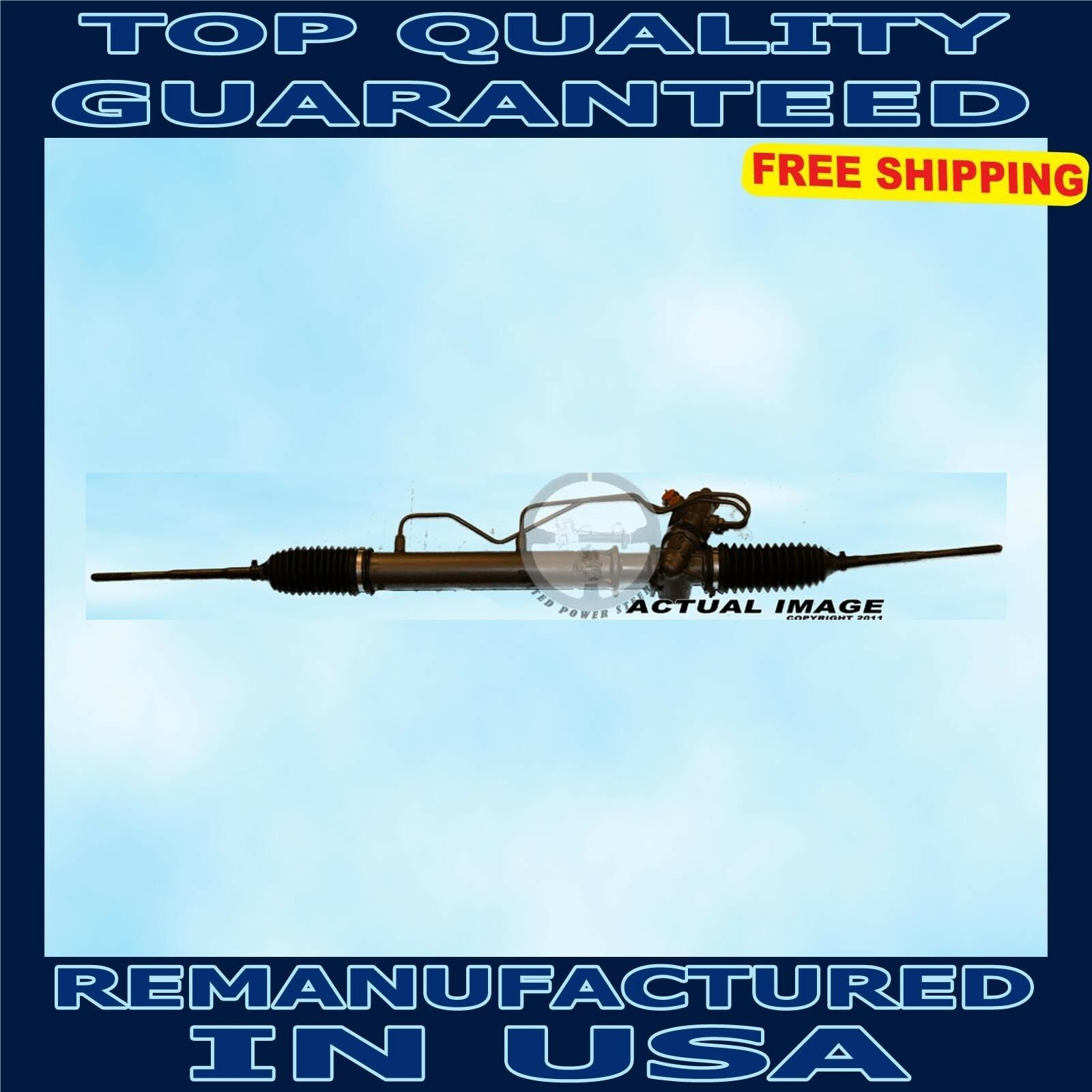 Replacement Parts Detroit Axle Complete Power Steering Rack ...