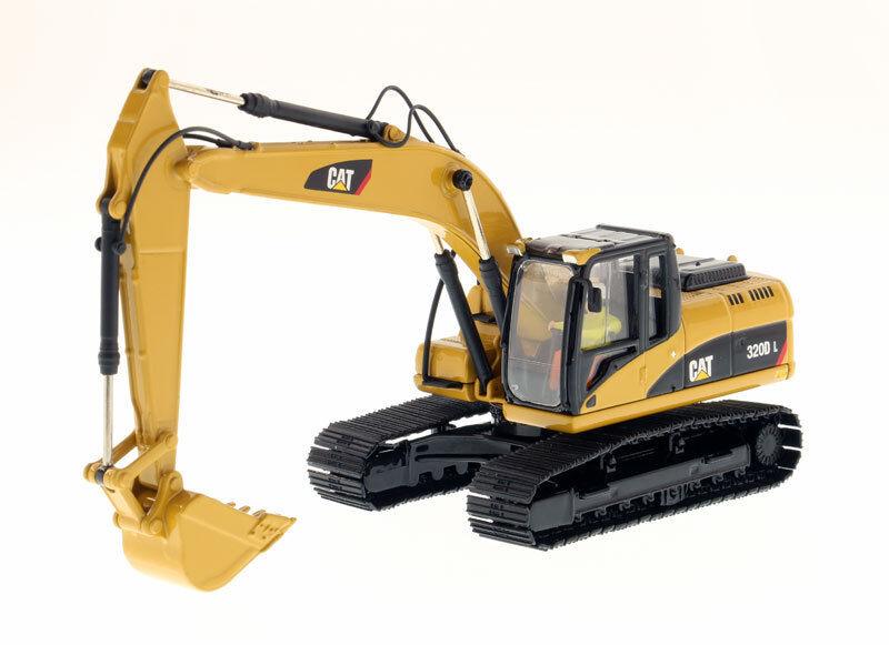 1 50 Caterpillar 320D L Pelle hydraulique-Core 85214 Classique Moulé Sous Pression model