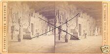 19570/ Stereofoto 9x17,5cm, Giacomo Brogi, Firenze, Pisa Campo Santo, ca. 1870