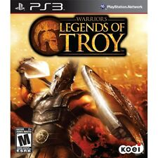 WARRIORS LEGENDS OF TROY Sony Playstation PS3 NEW