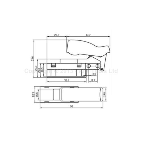 """DEWALT 230 mm 9/"""" Meuleuse D/'Angle Électrique Commutateur"""
