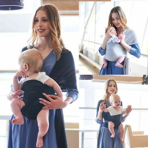 Baby Wrap Sling Carrier Summer Breathable Soft And Extra Light Ebay