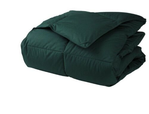 LaCrosse Down Comforter - Forest Green - King: 108 in. x 96 in.