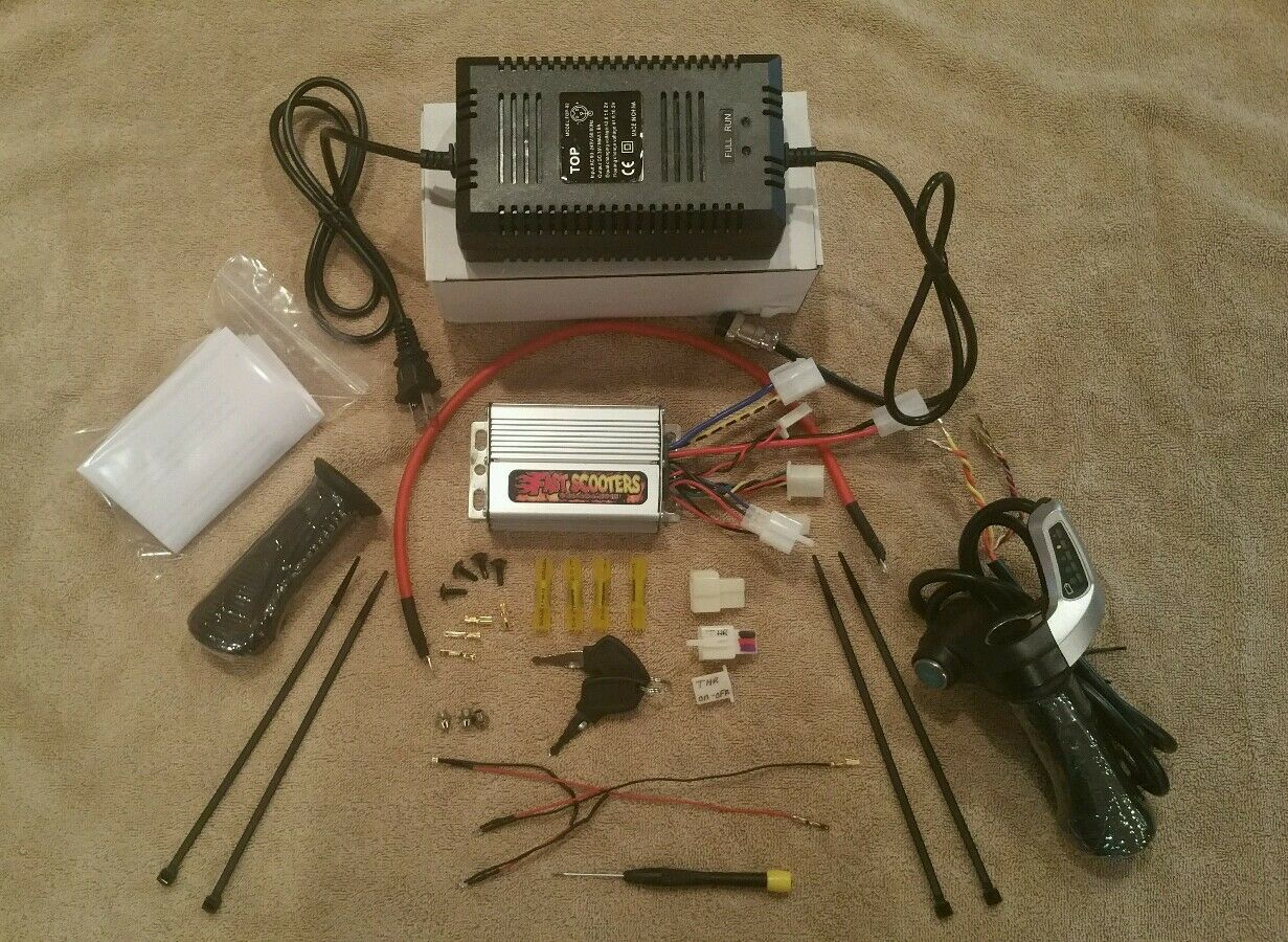 Cruzin Cooler 500 watt hi performance power kit20mph from Fast Scooters