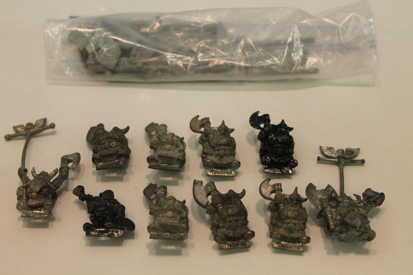 Warhammer Fantasy perros de guerra Bugman'S Cerveceros Dwarf Rangers (U-UA 172999)