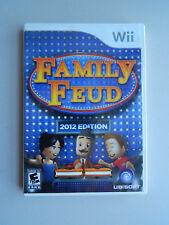Family feud - 2012 edition (nintendo wii, 2011) | ebay.