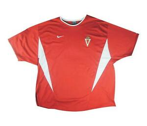 REAL MURCIA 2002-04 Authentic Home Shirt (eccellente) XXL SOCCER JERSEY