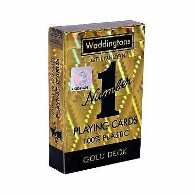 Classic Gold Waddingtons Number 1 Playing Cards Harrods For Sale Online Ebay