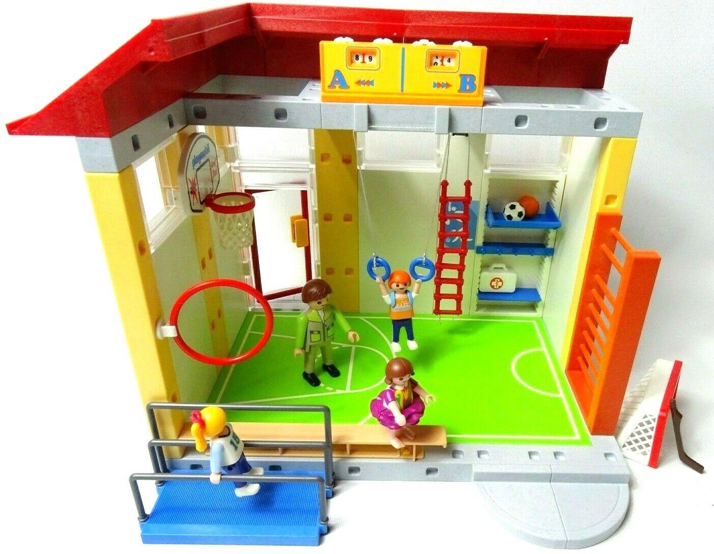 Playmobil 4325 École Gym avec boite-RARE interrompu objet & Extra Figure