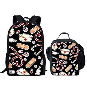 Nurse Cute Women Backpack Travel S