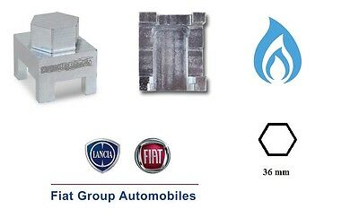 Chiave smontaggio valvole bombola metano Fiat Panda 2012 /> Nuova Ypsilon