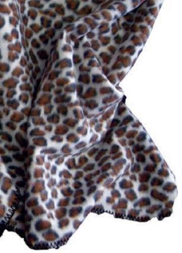 Leopard Print Throw ZF262018 51x71 Inch
