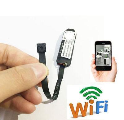 DIY wireless IP WIFI 1080P Full HD 140 degree mini camera network hidden spy DVR